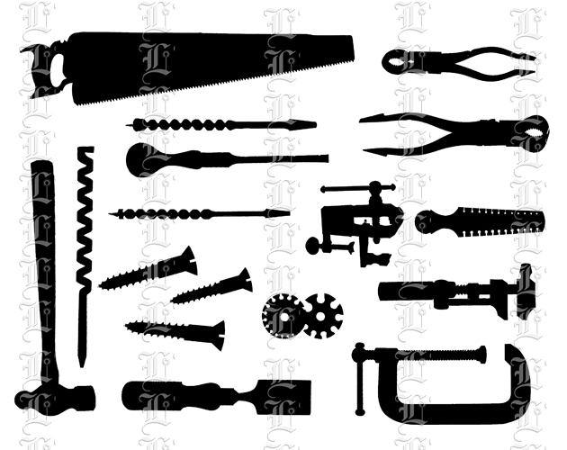 woodworking tools clipart - photo #17