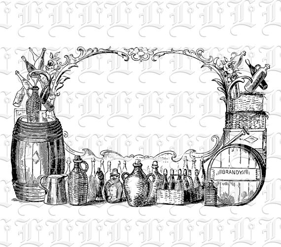 Antique 19th Century Distillery Liquor Ad Victorian Advertising ...